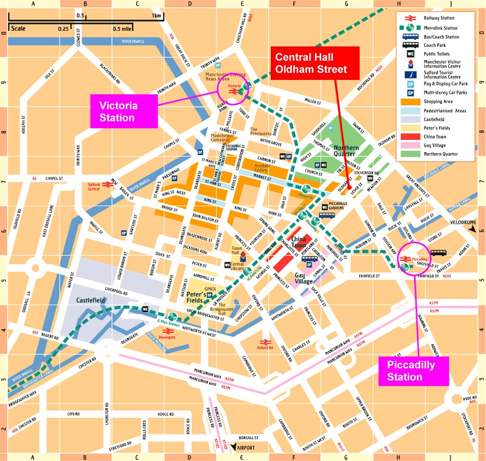 Map Of Central Manchester KONP Gtr Manchester screening of Sell  Off 11th Dec – Keep our NHS  Map Of Central Manchester