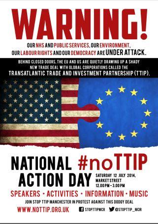 No TTIP Poster