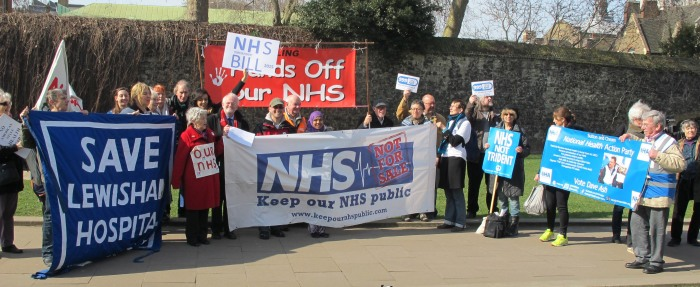 1-Campaign-group-banners-for-NHS-Bill